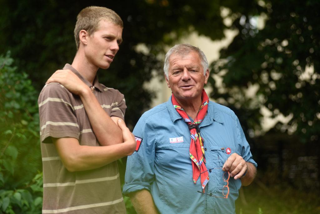 Guillaume Ellart et Christian Hogard